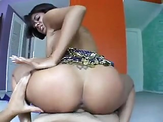 Hot Indian Dicksani POV big tits facial indian